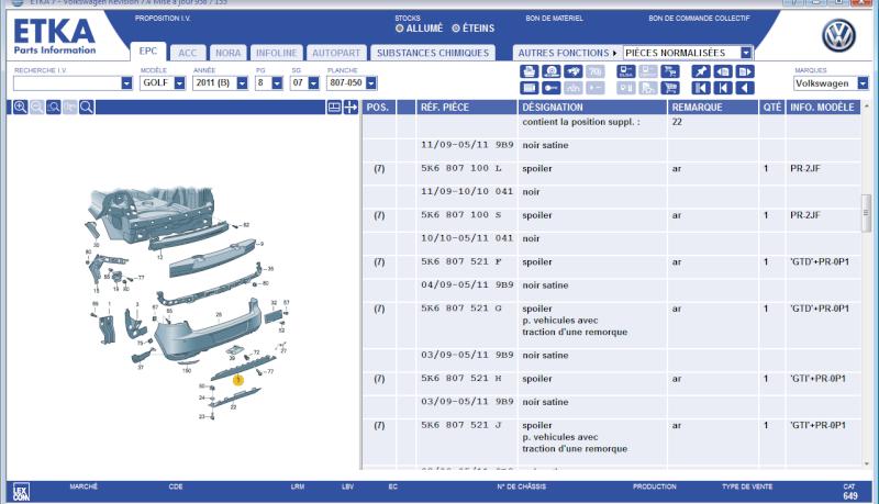 Recherche référence bas de caisse pour Pc arrière GTI  Z10