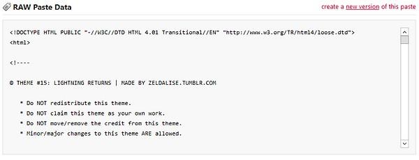 [apprenti] Tumblr - Installer un thème en libre service Sans_t17