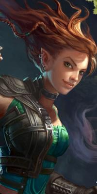 Galerie d'avatars : elfes Elfe_310