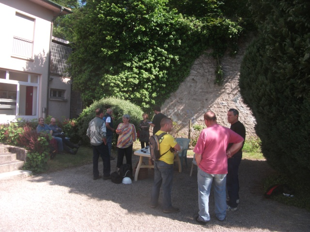 Les Journées Nationales de l'Archéologie 2013 dans la vallée de la Meurthe...  Dscf9011