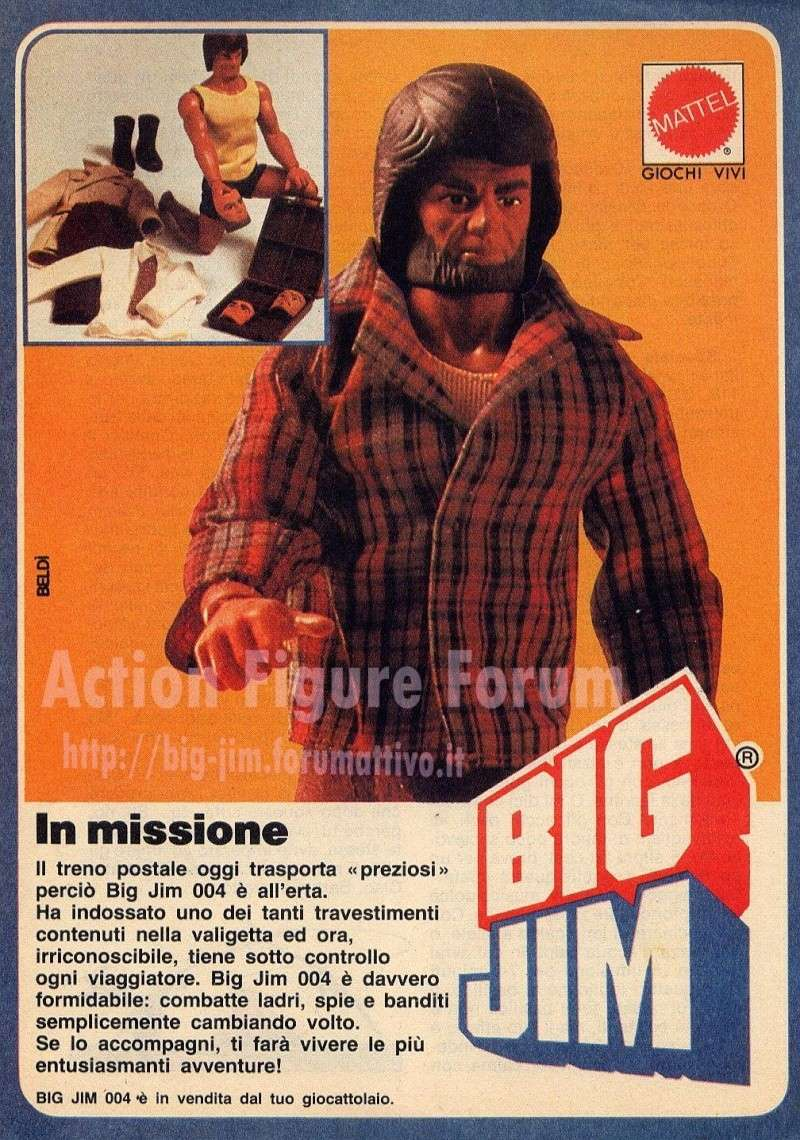 PUBBLICITA'  ITALIANE  DEL PERIODO SPIONAGGIO 1982 - 84 Cat_ff10