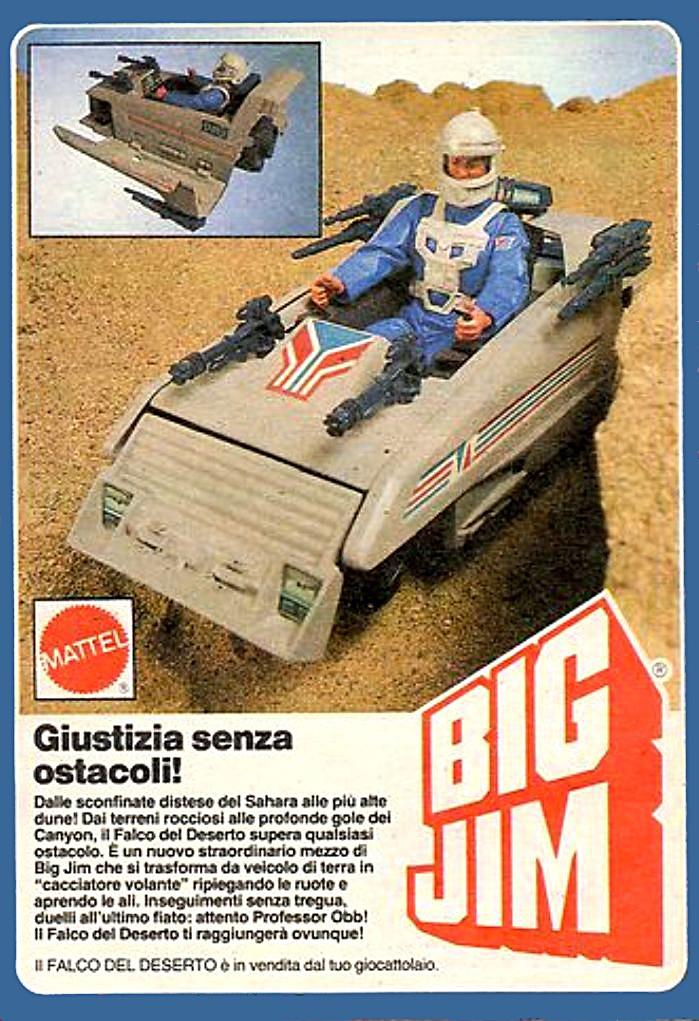 PUBBLICITA' ITALIANE Global Command VS Condor Force Falco_10