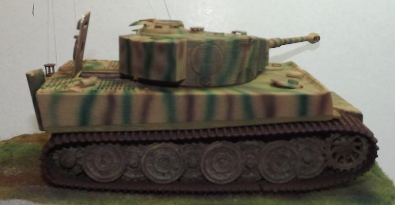 Rénovation Tigre I late Tamiya 1/35 Essaie12