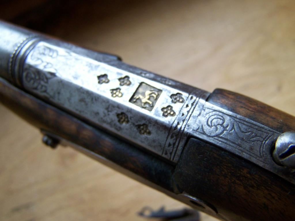 un pistolet à silex et balle forcée Identification 00443