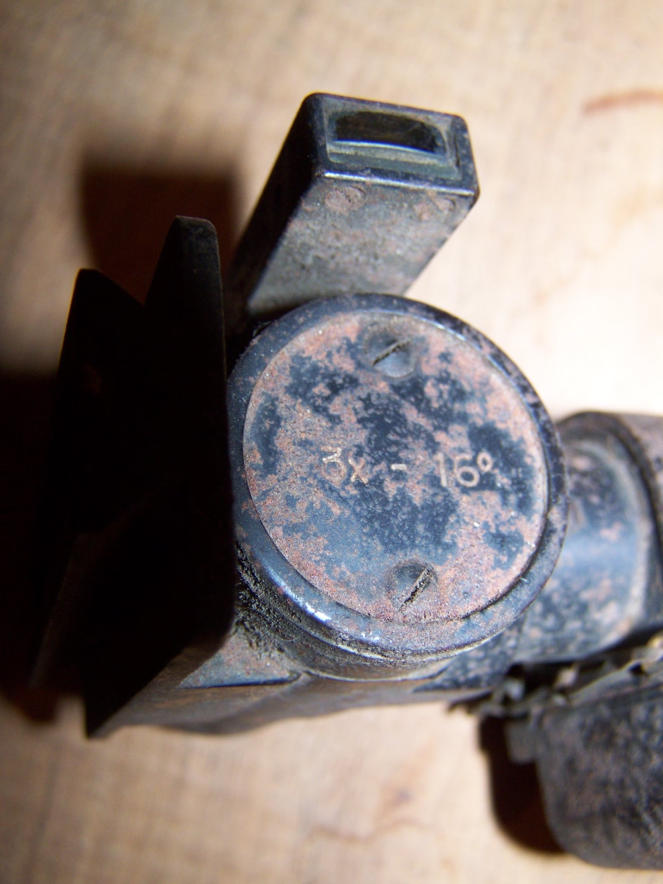 lunette de visée / optique à identifier 00635