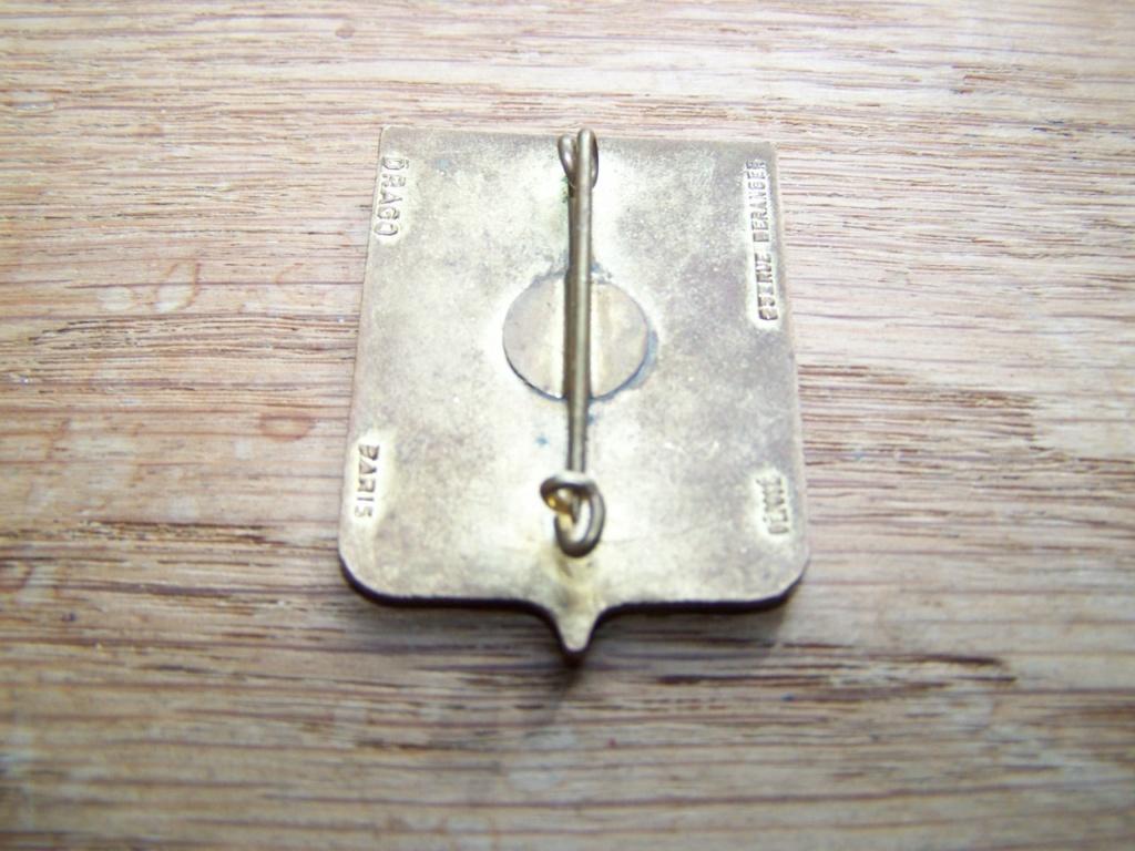 insigne d'école (scout) à identifier  00831