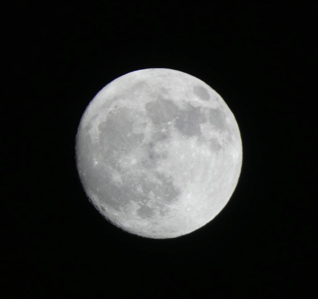 Quelques clichés de la Lune P1000110
