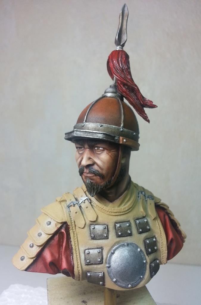 une escouade d'archers mongols... Christ10