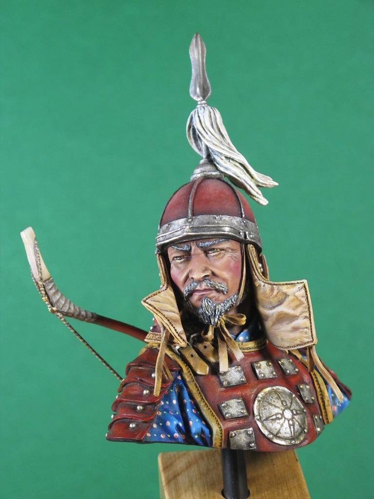 une escouade d'archers mongols... Christ11