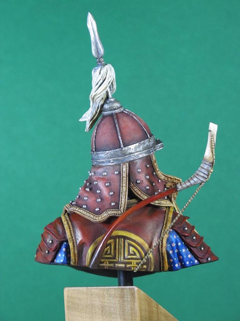 une escouade d'archers mongols... Christ12