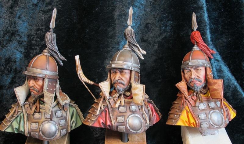 une escouade d'archers mongols... Trio_m10