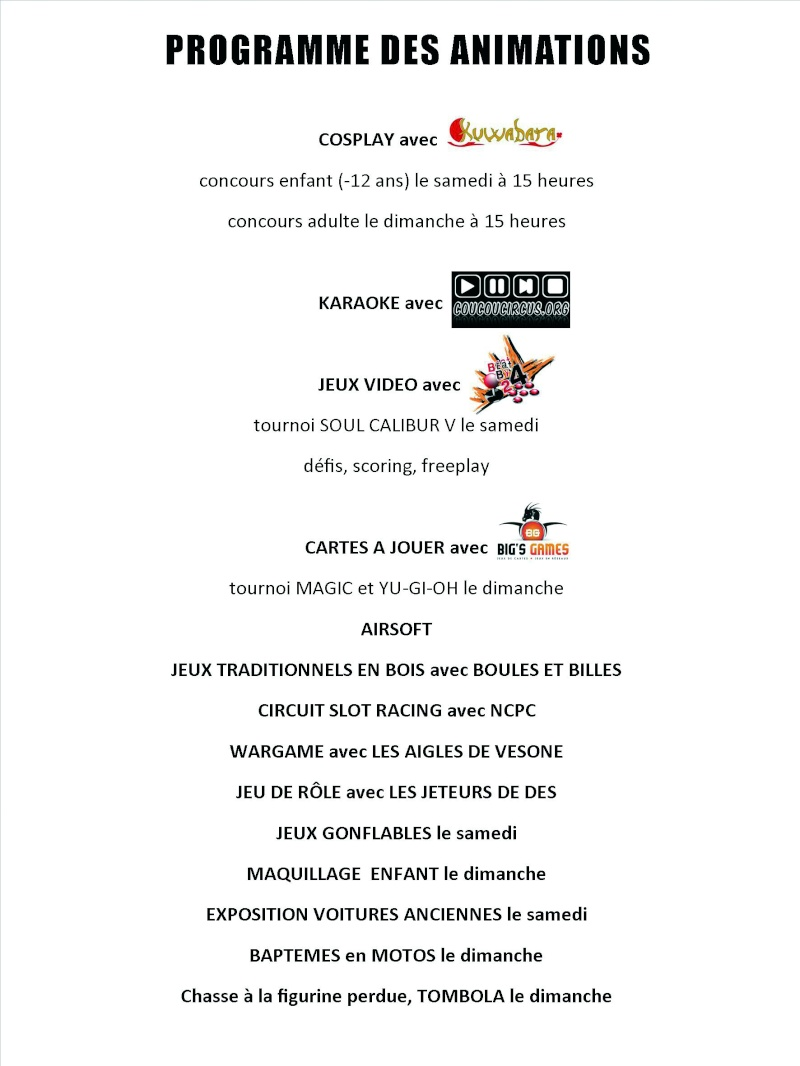 RAZAC 2013 15 et 16 Juin - 6eme salon des Grands Z'enfants Flyers10