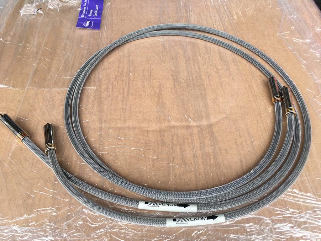 (SOLD) Shunyata Venom RCA 1.5 metre (Used) Shunya11