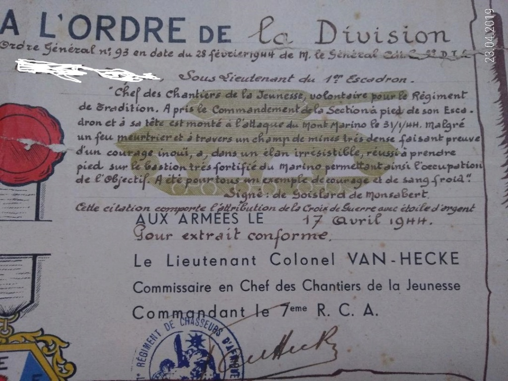 4 Citations d'un officier du 7e RCA 7_rca_12