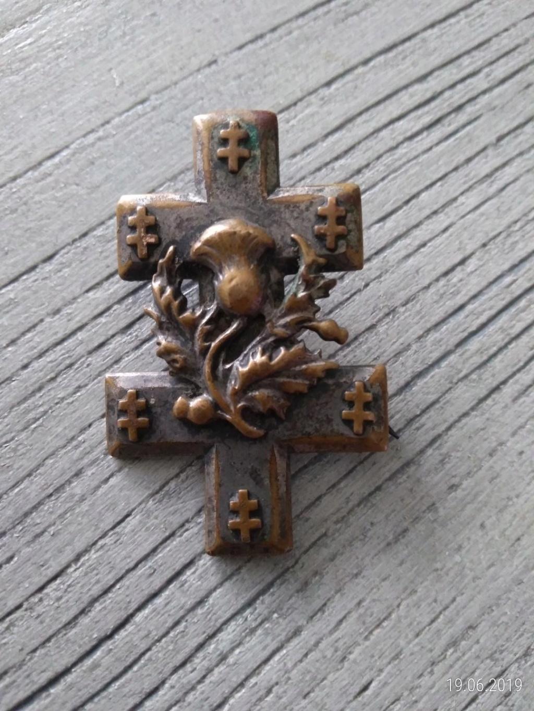 insigne avec croix de Loraine Croix10