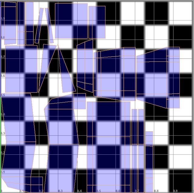 [Apprenti] Maya - Déplier et texturer un objet. 511