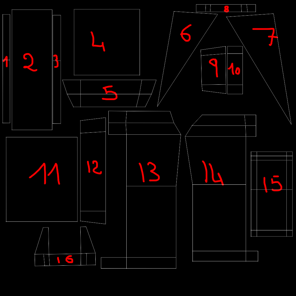 [Apprenti] Maya - Déplier et texturer un objet. Outuv10