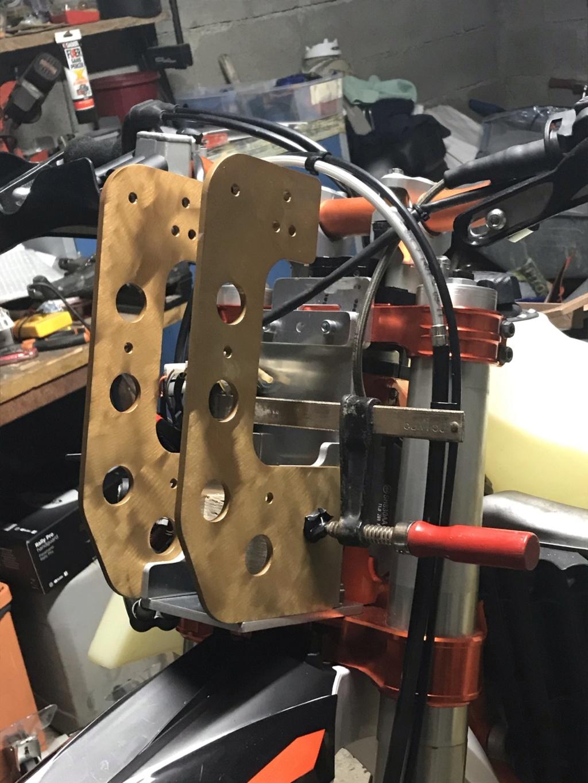 Prépa 450 EXC-F en RALLYE RAID VERSION MAISON Img_1710