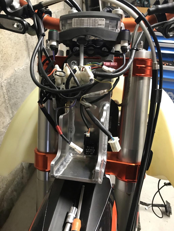 Prépa 450 EXC-F en RALLYE RAID VERSION MAISON Img_910