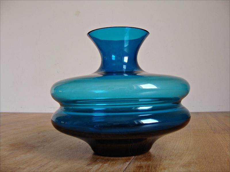 Blue Glass Vase 00110