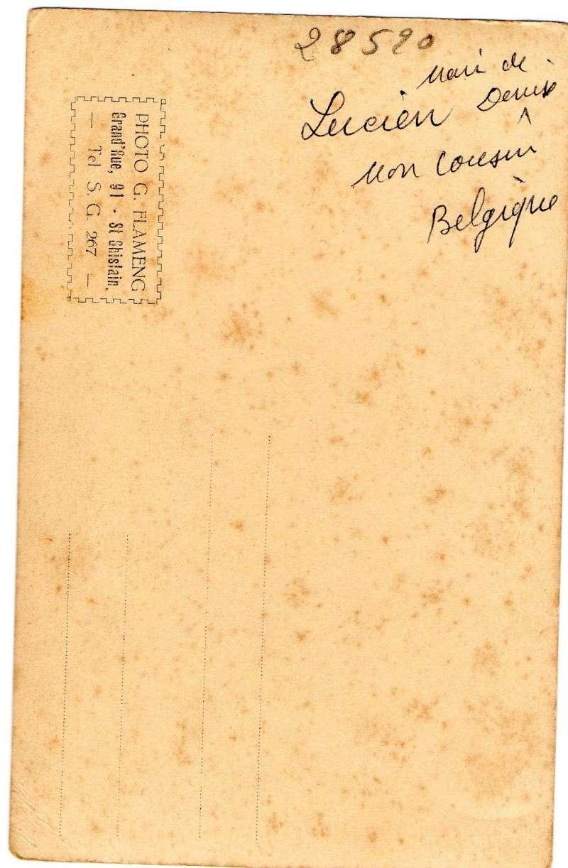 CPA soldat belge Lot_1215