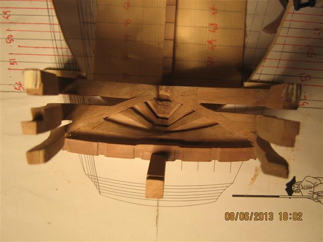 L'AMARANTE corvetta 12 cannoni 1\36 G.DELACROIX - Pagina 3 004_sm12