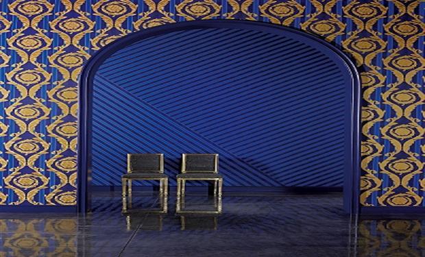 مجموعة جديدة لورق الجدران من فرساتشي X9e03310