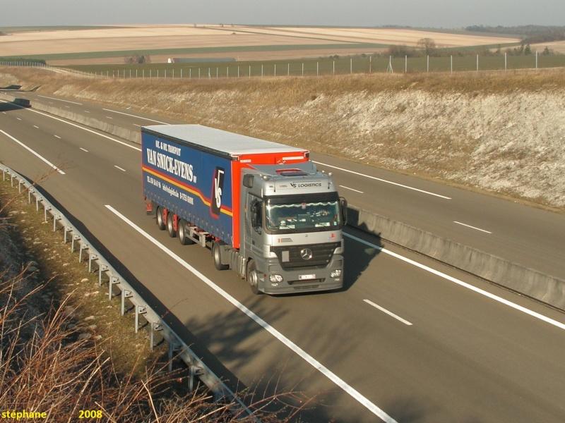 Van Snick-Evens  - VS Logistics  (Gooik) 08810