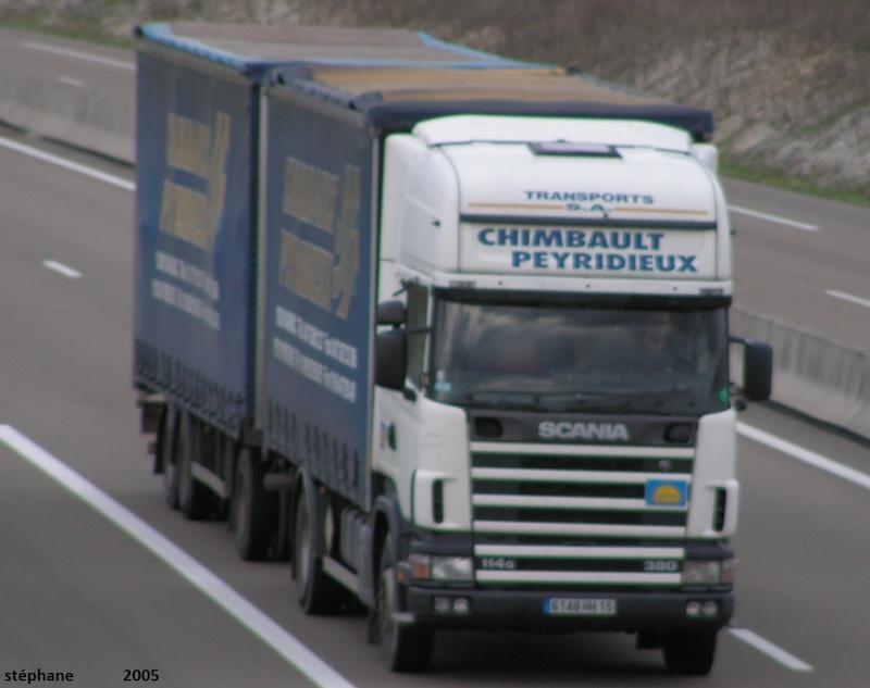 Chimbault Peyridieux (Mauriac 15)(groupe Cantal Fret) Camion98