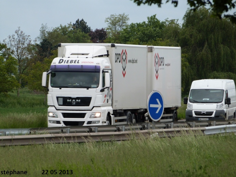 Diebel Spedition (Kassel),transporteur pour DPD (Dynamic Parcel Distribution) Le_22542