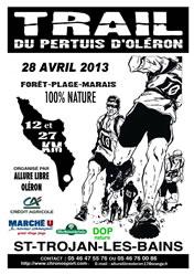 28/04/13 Trail du pertuis d'Oléron Affich10