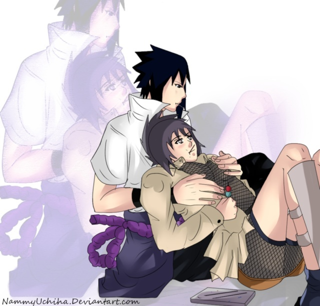 Sasuke x Anko Commis12