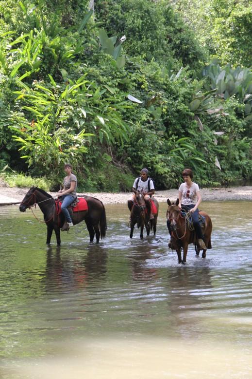 Géraldine Costa Rica 2013 Cheval10