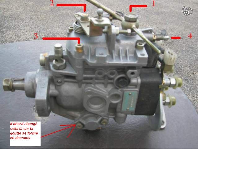 Puis-je tourner un peu la pompe injection LJ73 pour gagner de la place ? car fuite côté Photo_10