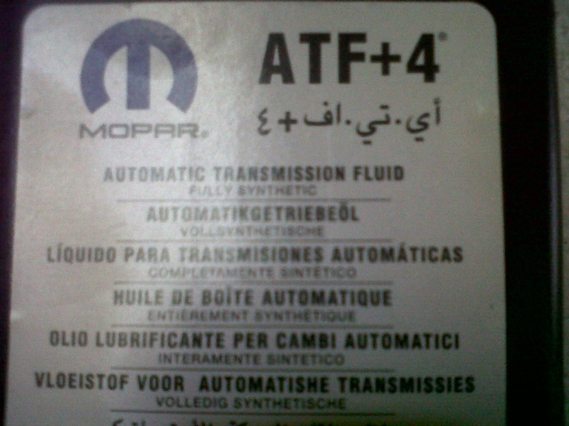 donne 1 litre ATF +4 00810