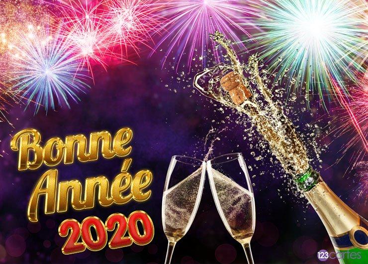 BONNE  ANNÉE  2020 Carte-11