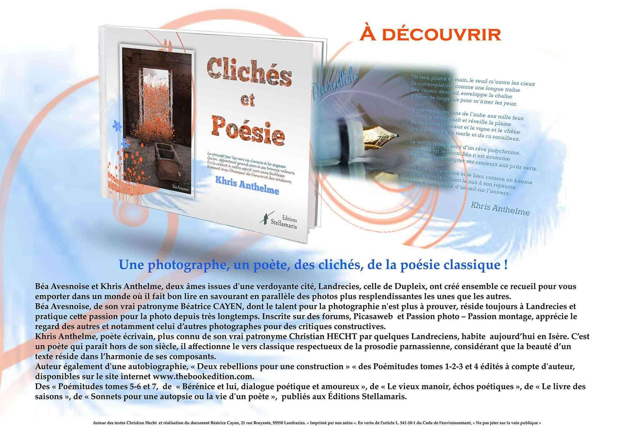 Clichés et Poésie Affich15