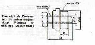 Extracteur Volant Magnétique. Extrac12