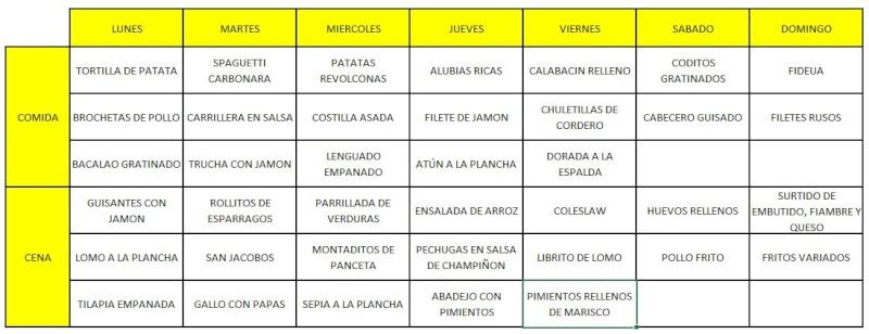 Menú de la Semana 27-May a 2-Jun (2013) Menu16