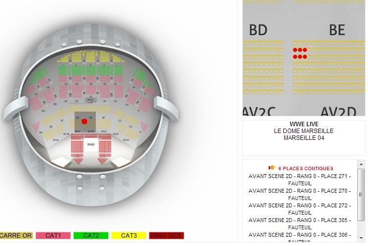 WWE LIVE - Vendredi 15 novembre au Dôme, à Marseille Marsei17