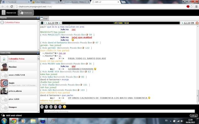 Ibot Web Client V.2 (Chatea en salas de Ares sin instalar Ares ni otros programas) Ibot_v10