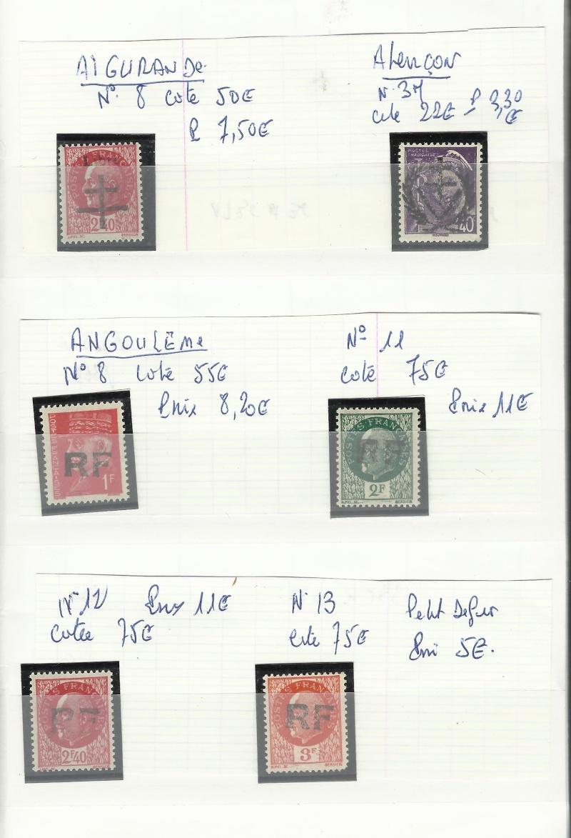 timbres de la libération Timbre10