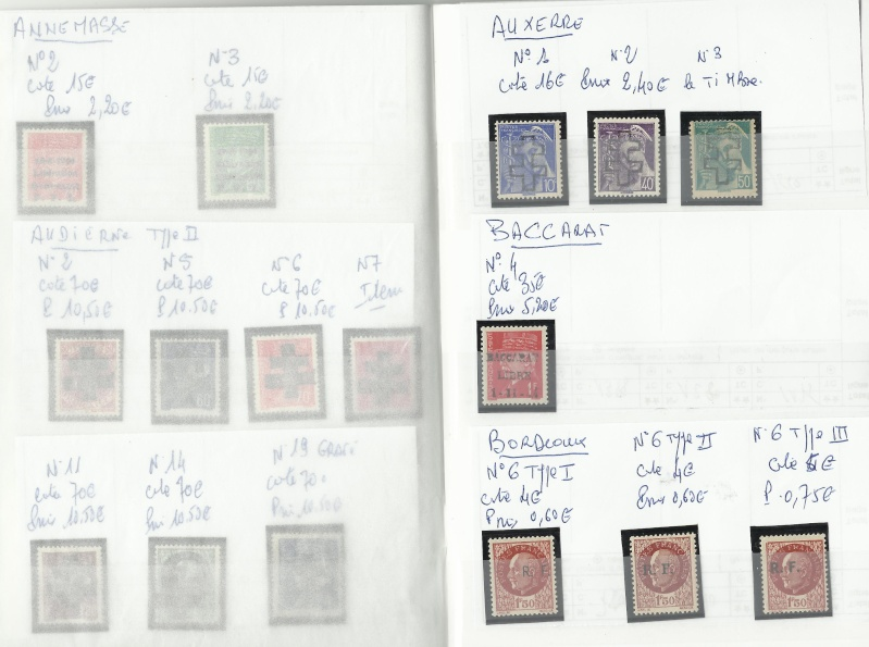 timbres de la libération Timbre11