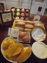 tiramisu à la mangue et mascarpone aux macarons.photos. Tirami11