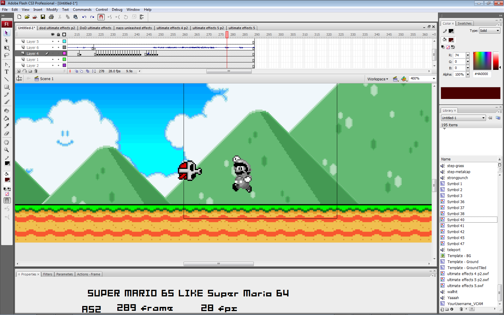 Super Mario 65? Weeeee10