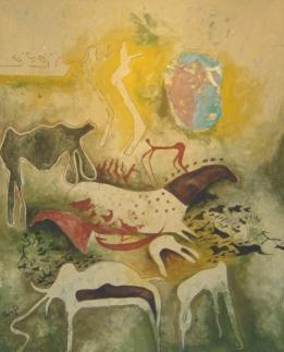 L'Institut Français accueille le peintre Moubarak Ammane jusqu'au 30 juin Img_0411