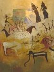 L'Institut Français accueille le peintre Moubarak Ammane jusqu'au 30 juin Img_0412