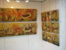 L'Institut Français accueille le peintre Moubarak Ammane jusqu'au 30 juin Img_0414