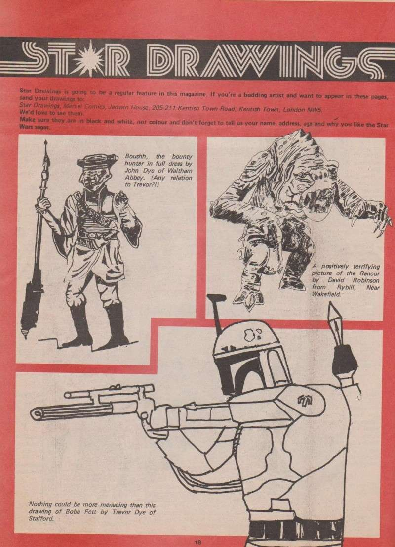 Making The Star Wars Toys - Marvel Comic Supplement Comic_13