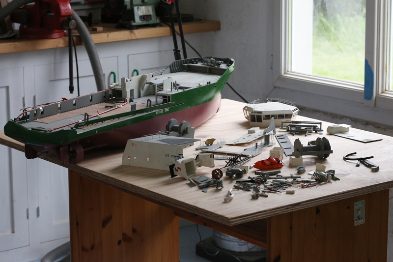 [Réparation] Maquette de bateau... endommagée!  22_avr13